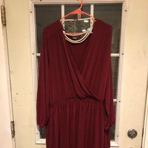 Dresses & Skirts - Old navy wrap dress!